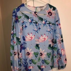 H&M flower blouse